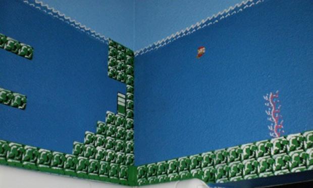 Super Mario Brothers Bathroom  Craziest net