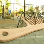 comb bike rack